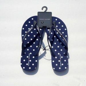 Tommy Hilfiger flip flops